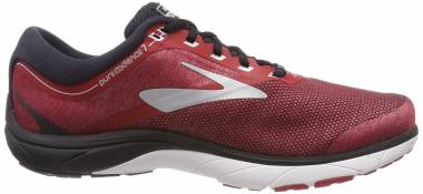 Brooks PureCadence 7 - Red Red Black Silver 1d673 (673)