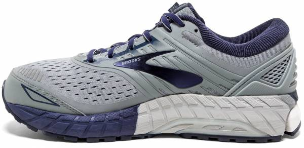 premium selection 57699 d2698 Brooks Beast 18 Grey Navy White
