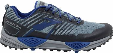 Brooks Cascadia 13 - Grey/Blue/Ebony (058)