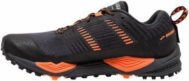 Brooks Cascadia 13 - Grey/Black/Orange