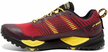 Brooks Cascadia 13 - Red/Yellow/Black (634)