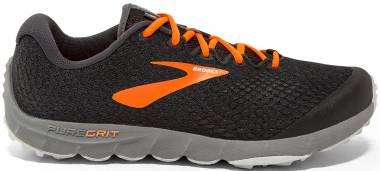 Brooks PureGrit 7 Black/Orange/Grey Men