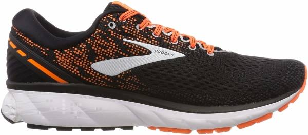 Brooks Ghost 11 Black / Silver / Orange