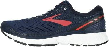 Brooks Ghost 11 - Navy/Red/White