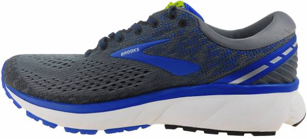 Brooks Ghost 11 Grey/Blue/Silver