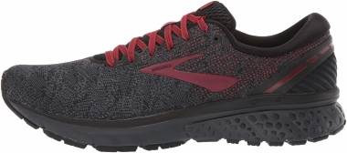 Brooks Ghost 11 - Black/White/Merlot