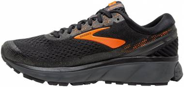 Brooks Ghost 11 GTX Black/Orange/Ebony Men