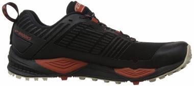 Brooks Cascadia 13 GTX - Black/Red/Tan (037)