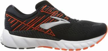 Brooks Adrenaline GTS 19 - Noir Black Orange Silver 092 (092)