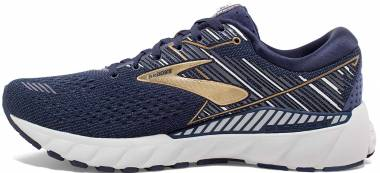 Brooks Adrenaline GTS 19 - Navy/Gold/Grey