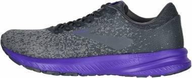 Brooks Launch 6 - Ebony Shark Violet
