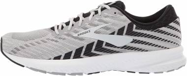 Brooks Launch 6 Alloy/Black/Grey Men