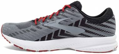 Brooks Launch 6 - Ebony / Black / Cherry