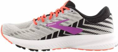 Brooks Launch 6 - Grey/Black/Purple (027)