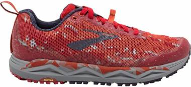 Brooks Caldera 3 - Red / Orange / Grey