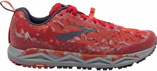 Brooks Caldera 3 Red / Orange / Grey