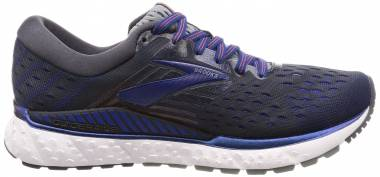 Brooks Transcend 6 - Ebony/Blue/Mandarin