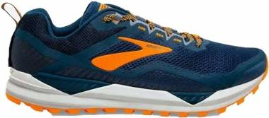 Brooks Cascadia 14 - Poseidon Orange Grey (489)