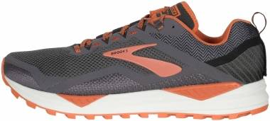 Brooks Cascadia 14 - Black Grey Burnt Ochre (014)