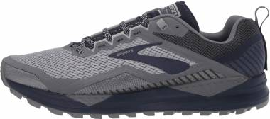Brooks Cascadia 14 - Grey/Navy (020)