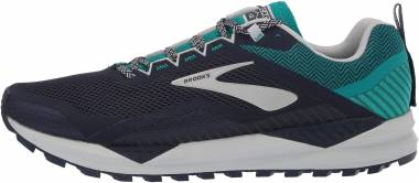Brooks Cascadia 14 - Navy / Blue Grass / Grey