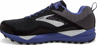 Brooks Cascadia 14 GTX - Black / Grey / Blue