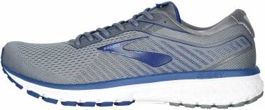 Brooks Ghost 12 - Grey/Alloy/Blue (003)