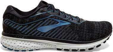 Brooks Ghost 12 - Black/Grey/Stellar (058)
