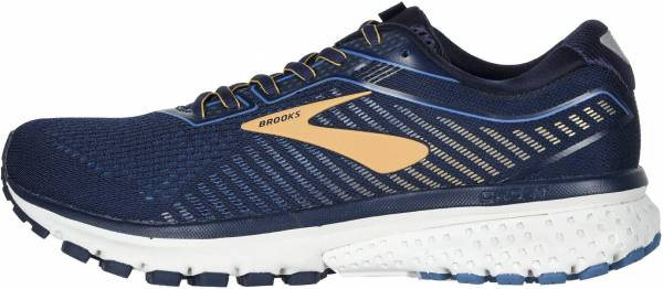 Brooks Ghost 12 - Navy Deep Water Gold (489)