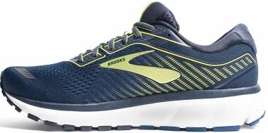 Brooks Ghost 12 - Peacoat Blue Tender Shoots (469)