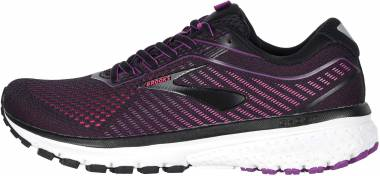 Brooks Ghost 12 - Black / Hollyhock / Pink