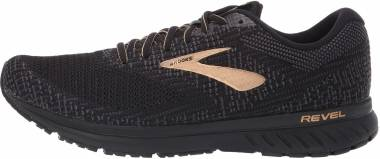 Brooks Revel 3 - Black/Ebony/Gold (077)