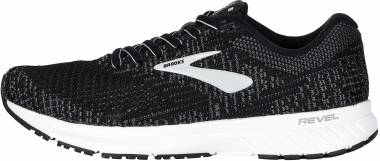 Brooks Revel 3 - Black / Blackened Pearl / White (012)