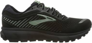 Brooks Ghost 12 GTX - Black Black Ebony Aqua 010 (010)