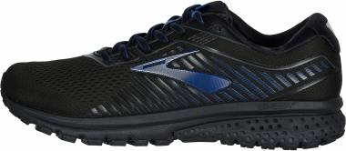 Brooks Ghost 12 GTX - Black / Ebony / Blue