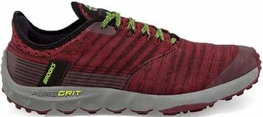 Brooks PureGrit 8 - Biking Red Red Nightlife (684)