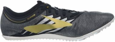 Brooks ELMN8 v4 - Black / Gold / White