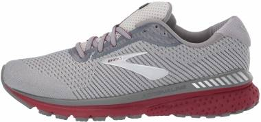 Brooks Adrenaline GTS 20 - Grey/Silver/Red (695)