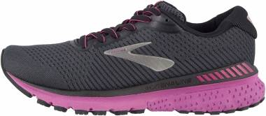 Brooks Adrenaline GTS 20 - Ebony Black Hollyhock
