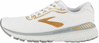 Brooks Adrenaline GTS 20 - White/Grey/Gold (164)