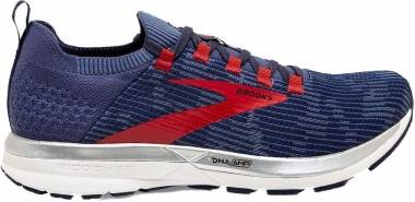 Brooks Ricochet 2 - Deep Cobalt Blue Red (445)