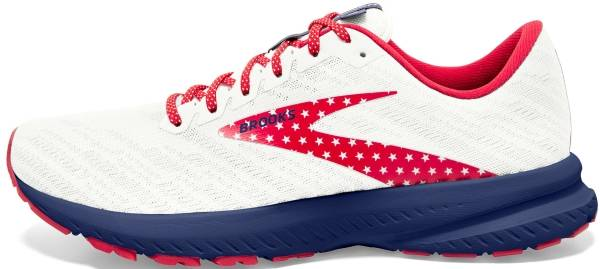 Brooks Launch 7 - White/Blue/Red (166)