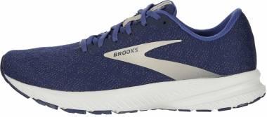 Brooks Launch 7 - Navy/Cobblestone/Grey (402)