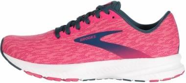 Brooks Launch 7 - Pink/Beetroot/Majolica (646)