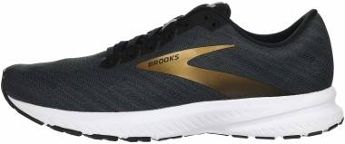 Brooks Launch 7 - Ebony/Black/Gold (018)