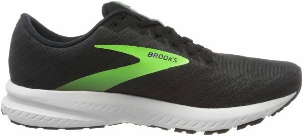 Brooks Launch 7 - Ebony Black Gecko (005)