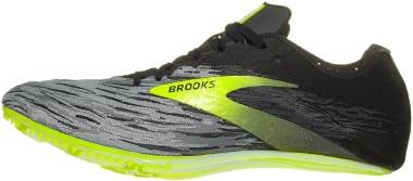 Brooks QW-K v4 - Black Grey Nightlife (081)
