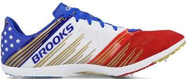 Brooks Wire v4 - Blue / Gold / Red / White (612)