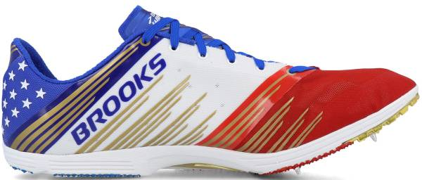 Brooks Wire v4 - Blue / Gold / Red / White