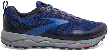 Brooks Divide - Blue Navy Cherry Tomato (424)